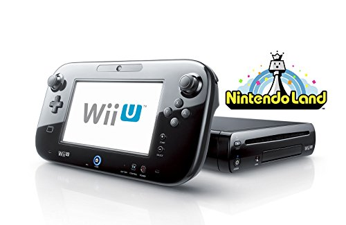 Wii U Deluxe Set 32GB Black Edition with Super Mario 3D World and Nintendo Land (Certified Refurbished)