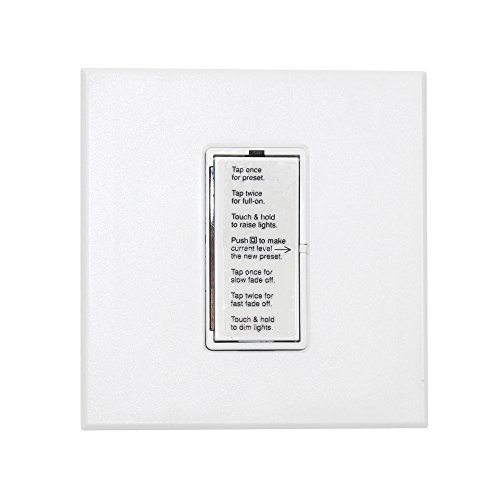 Lightolier OH1500EB-W OnSet Digital Dimmer Wall Switch Designer Style120VAC, White