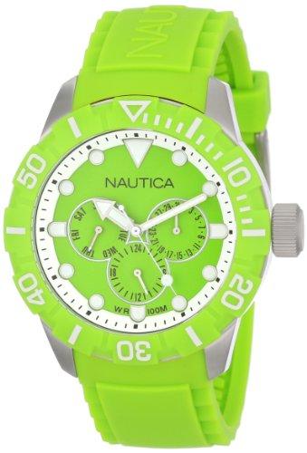 Nautica Unisex N13640G NSR 101 Multi- South Beach Classic Analog with Enamel Bezel Watch