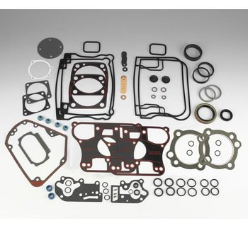 James Gaskets Inc. Kit Complete Motor Set with Graphite Coated Head (Complete Pushrod Cover)