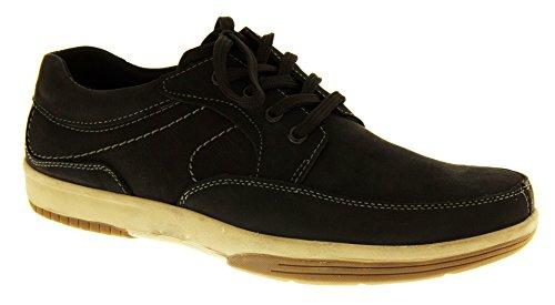 Footwear Studio - Náuticos para hombre negro