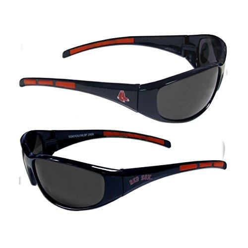 MLB Boston Red Sox 3-Dot Wrap - Sunglasses Team