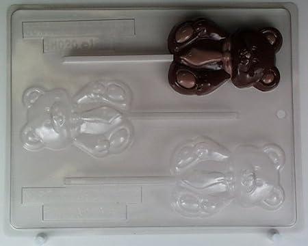 Bonito oso oso con corbata BH020 oso Heaven Chocolate Candy Molde ...