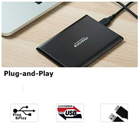 Rose Pink 2.5 Portable External Hard Drive 500GB-USB 3.0 Ultra Slim Aluminum HDD Backup for PC//Desktop//Laptop//TV//Mac//MacBook//XBox//PS4//Chromebook//Windows