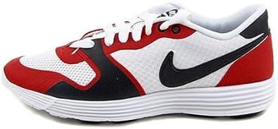 animación recepción Tropezón  Amazon.com | Nike Men's Shoes Lunar Racer Vengeance White/Red/White  429464-101 Size 8 | Fashion Sneakers