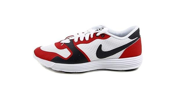 Presa trolebús Crítica  Amazon.com | Nike Men's Shoes Lunar Racer Vengeance White/Red/White  429464-101 Size 8 | Fashion Sneakers