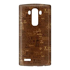 Loud Universe LG G4 Tea Time Print 3D Wrap Around Case - Brown