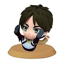 Banpresto Attack on Titan 2.4-Inch Eren Chibi-Kyun-Chara Figure, Training Version