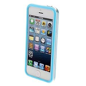 compra Especial diseño ultra fino transparente del capítulo de parachoques con el botón para el iPhone 5/5S (colores surtidos) , Rosa