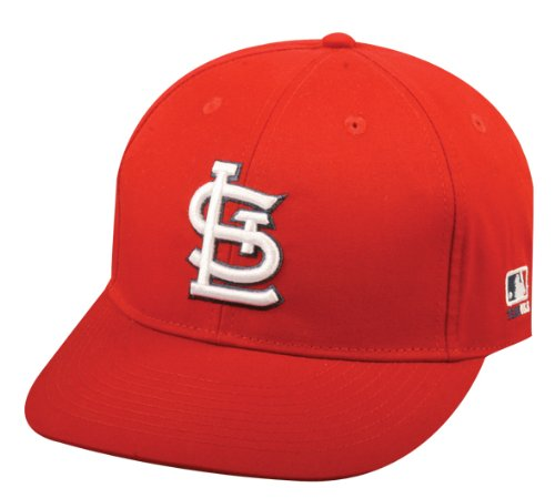 Youth FLAT BRIM St. Louis Cardinals Home Red Hat Cap MLB Adjustable