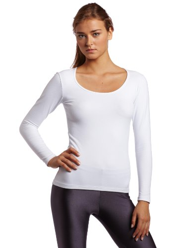 MPG Sport Women's Wide Crew Neck Long Sleeve Top