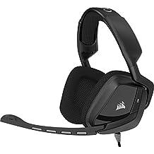 Corsair Gaming VOID Surround Gaming Headset, Carbon (CA-9011146-NA) (Certified Refurbished)