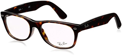 Ray-Ban RX5184 New Wayferer Eyeglasses Tortoise 52mm [Apparel]