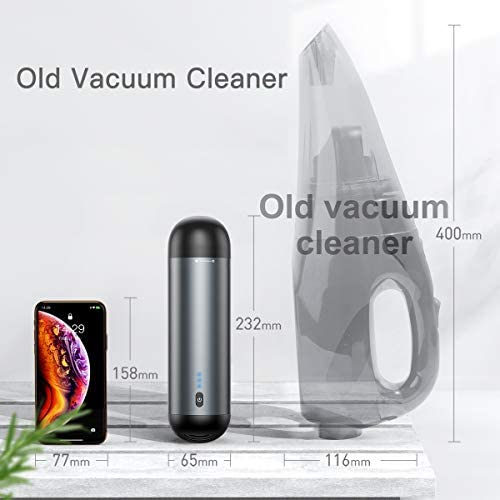Baseus Car Vacuum, Aspiradora portátil inalámbrica para automóvil ...