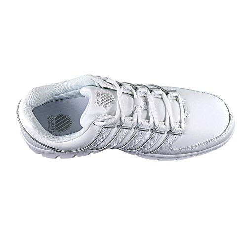 Men's Trinzler Swiss Silver White K Fashion vq76nwC