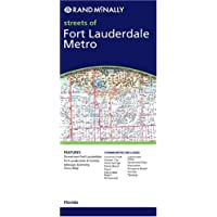 Ft. Lauderdale Metro, FL: City & Regional Folded Maps (Rand McNally City Maps)