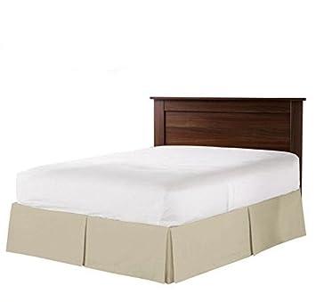 Amazon Com Hh Linen Real 400 Thread Count Split Corner Bed Skirt