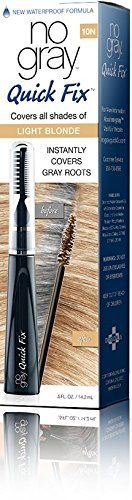 No Gray Quick Fix Instant Touch-Up for Gray Roots (Set of 1, Light Blonde) by No Gray Quick Fix