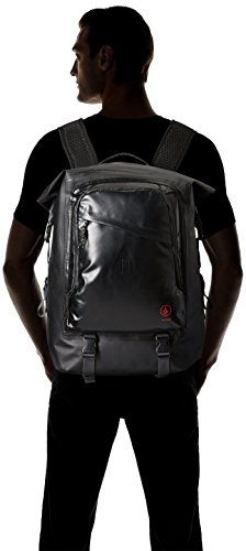 Volcom Herren Backpack Mod Tech Dry Bag, Black, 16 x 36 x 46 cm, 24 Liter, D6511649BLK