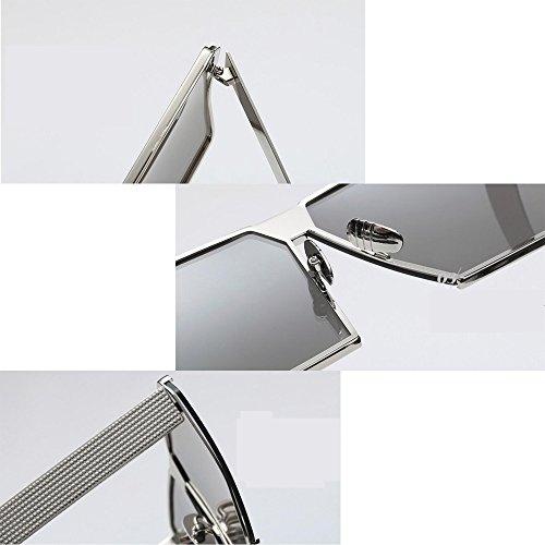 cadre soleil lunettes GAOLIXIA soleil carrées classique métal de aviateur de femmes lunettes voyage de ton luxe lunettes I hommes miroir mode wwxT6ACIq