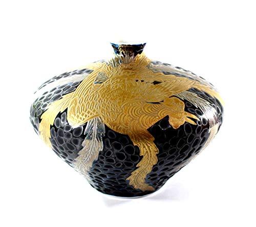 Arita - Imari pottery vase - golden phoenix | gifts | Gifts | souvenir | gift | potter Fujii NishikiAya
