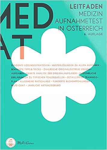 MedAT 2019 Der Leitfaden: Übungsbücher zur Vorbereitung