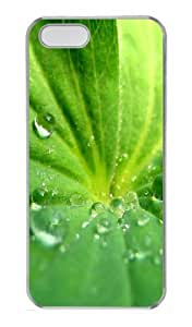 Green seductive PC Case Cover for iPhone 5 and iPhone 5s ¡§C Transparent