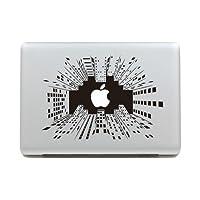 MacBook 対応 アートステッカー - Apple Moon - (MacBook Pro 15-inch) 【並行輸入品】