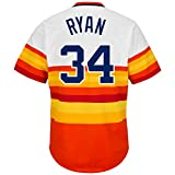 Majestic Men's Houston Astros Nolan Ryan Cooperstown Pullover Jersey