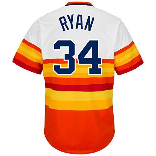 Majestic Men's Houston Astros Nolan Ryan Cooperstown Pullover Jersey – DiZiSports Store
