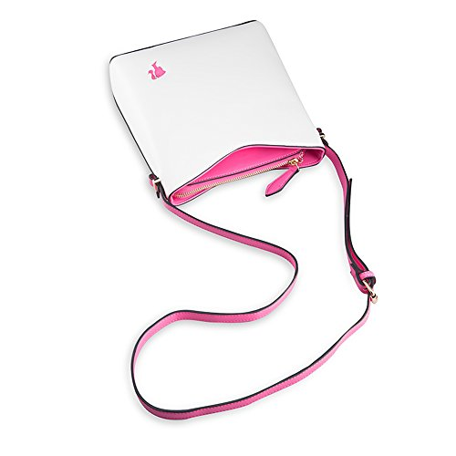 Barbie BBFB286 Bolso de Estilo Novedoso Bolso Bandolera en Forma de Cuadrado Rosa