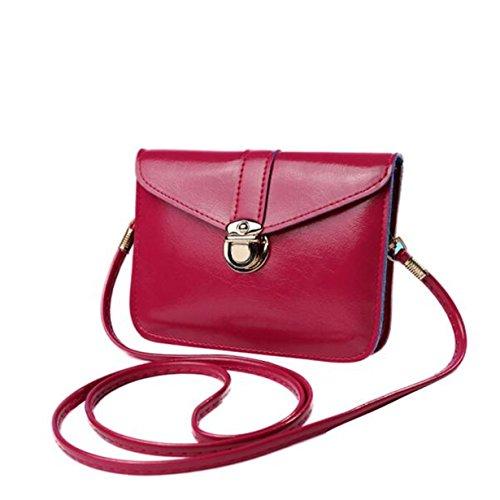 Cross Clutches Body Fashion Yuan Pink Women Handbag Shoulder Bags Purse Hot IwPUCqf