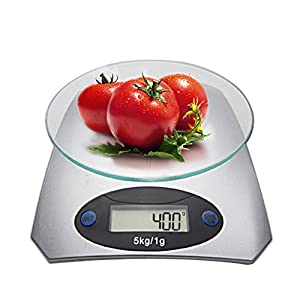 Brosloth Kitchen Electronic Digital Food Scale Multifunction 11Lb 5Kg