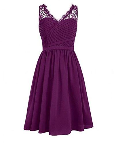 KA Beauty - Vestido - para niña Violett - Grape
