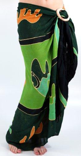 Guru-Shop - Falda - para mujer Verde verde talla única