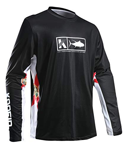 2af17e42 Performance Fishing Shirt Men's Vented Long Sleeve UPF 50 Sun Protection Quick  Dry Cooling Side Vents