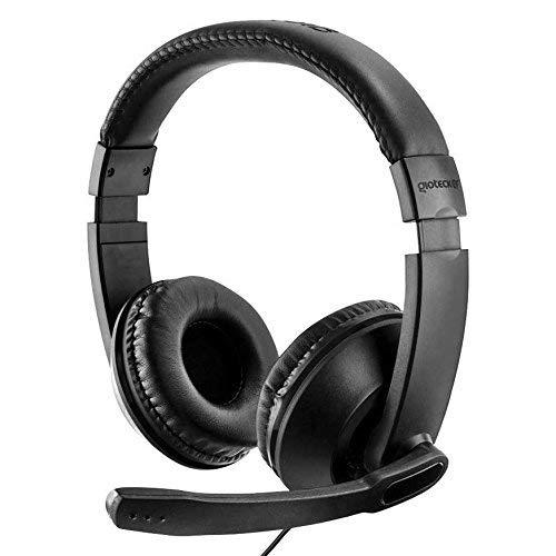 Gioteck - Auricular Stereo Cable XH 100 (PC, Mac, PS4, Xbox): Amazon.es: Videojuegos