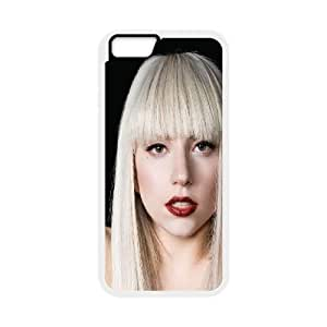 iPhone 6 4.7 Inch Cell Phone Case White hb57 lady gaga pose music LSO7829483