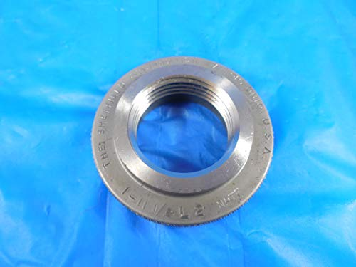 1 11 1/2 NPTF L2 Pipe Thread Ring GAGE 1.0 11.5 Quality Inspection NPT L-2