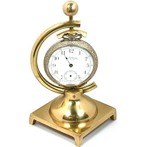 Pocket Watch Case Holder Brass Stand 1 Arm Display - Pocket Watch Display Cases
