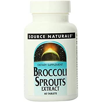 Source Naturals Broccoli Sprouts, 60 Tablets