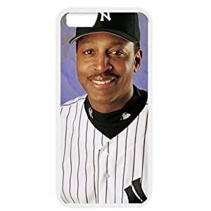 MLB iPhone 6 White New York Yankees cell phone cases&Gift Holiday&Christmas Gifts NBGH6C9125012