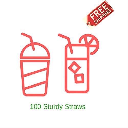 White Plastic Orange Home Straws Kitchen Use For Minimum Price