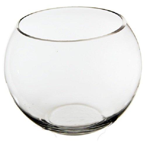 CYS Glass Bubble Bowl, Fish Bowl Hand Blown Glass, Body D-6