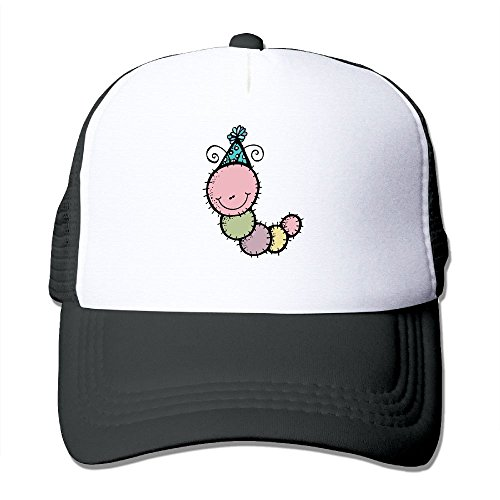 Uzhongquux Happy Birthday Caterpillar Summer Mesh Cap With Adjustable Snapback Strap - In Aurora Stores Il