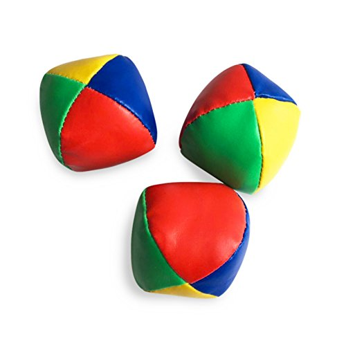 Tracfy 3 Pcs Juggling Balls Set Magic Circus Classic Bean Bag Fun and Exercise For Child And Adults Classic Juggling Balls