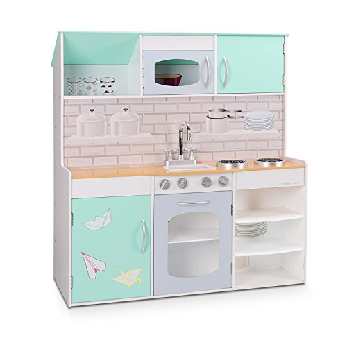 Wildbird care wildbird care kids dollhouse kitchen for Cheap kids kitchen set