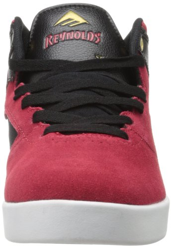 Emerica - Zapatillas de tela para hombre rojo rojo y negro Red/black
