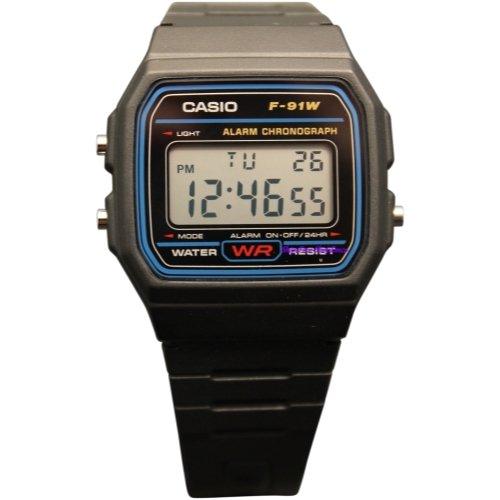 CASIO F91W-1 Casual Sport Watch (91w)