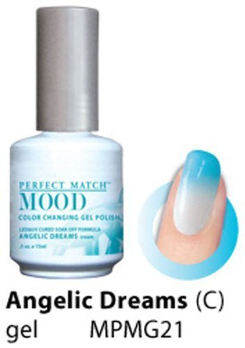 LeChat Perfect Match Mood Gel Nail Polish, Angelic Dreams by LE CHAT ()